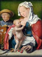 Йос ван Клеве. Святое семейство. 1515-1520