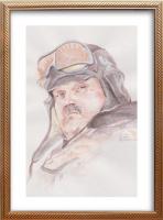 Иван Александрович Долгоруков. Акварельный портрет Казакова