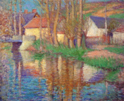 Эдмунд Уильям Грисен. Река