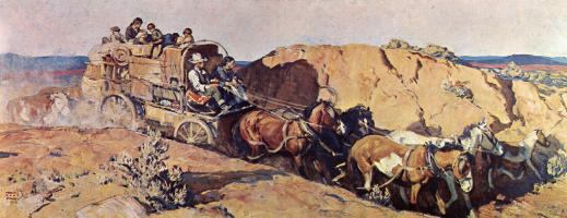 Гарольд фон Шмидт. Покидая долину