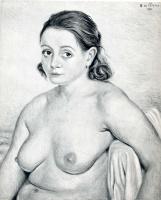 Джорджо де Кирико. Обнаженная брюнетка