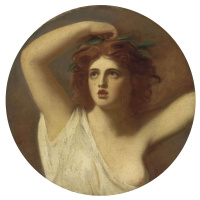 George Romney. Lady Hamilton in the form of Cassandra