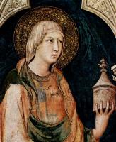 Симоне Мартини. Цикл фресок со сценами из Жизни св. Мартина фон Тюп, капелла в нижней церкви Сан Франческо в Ассизи, сцена: Святые