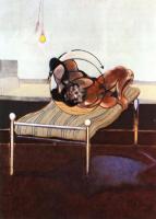 Фрэнсис Бэкон. Три этюда фигур на кровати