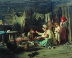 Кирилл (Карл) Викентьевич Лемох. Выздоравливающая.1889