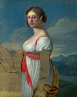 Итальянский. Женский портрет