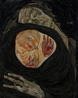 Egon Schiele. Dead mother