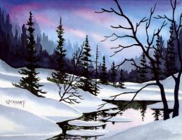 Джон Локхарт. Зимний пейзаж
