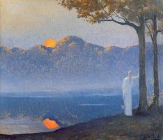 Альфонс Осберт. Закат солнца