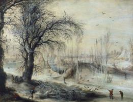 Гейсбрехт Лейтенс. Зимний пейзаж