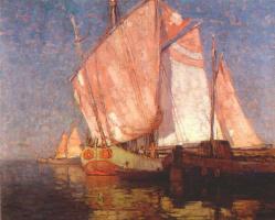 Эдгар Пейн. Адриатические грузовые лодки