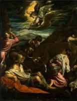 Якопо да Понте Бассано. Благовещение пастухам