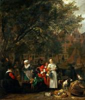 Овощной рынок в Амстердаме