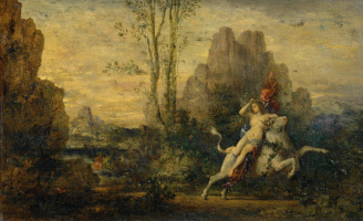 Gustave Moreau. Abduction of Europe