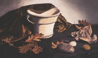 Линда Манн. Ваза и листья