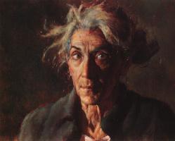 Иаков Коллинз. Пожилая женщина