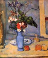 Поль Сезанн. Натюрморт с голубой вазой