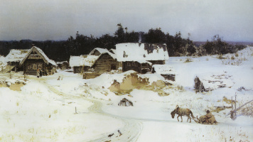 Vasily Dmitrievich Polenov. Winter. Inocence