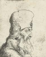 Ян Ливенс. Бородатый господин в высокой шапке