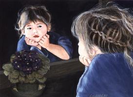 Андре Латулипп. Ребенок в зеркале