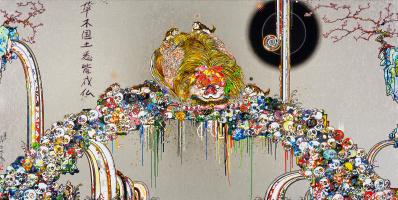 Такаси Мураками. Лев всматривается в бездну смерти