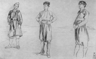 Philip Andreevich Malyavin. The Turks