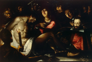 Жак Белланж. Оплакивание Христа
