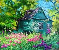 Георгий Васильевич Харченко. Дачные цветы