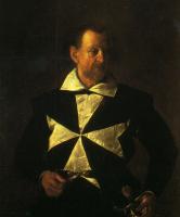 Микеланджело Меризи де Караваджо. Портрет Фра Антонио Мартелли