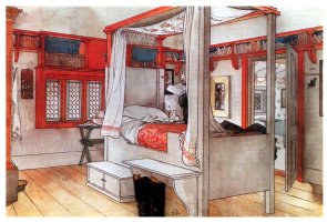 Карл Ларссон. Отцовская спальня