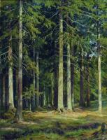Иван Иванович Шишкин. Еловый лес