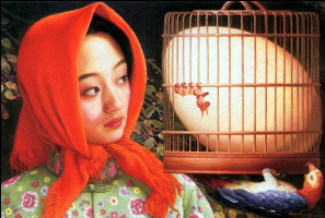 Ян Чжоу Сюй. Клетка