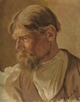 Абрам Ефимович Архипов. Портрет крестьянина