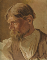 Abram E. Arkhipov. Portrait of a peasant