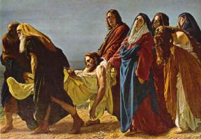 Антонио Кисери. Перенесение Иисуса