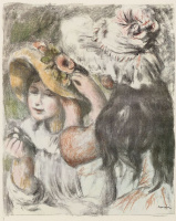 Пьер Огюст Ренуар. Украшенная шляпка