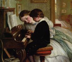Чарльз  Вест Коуп. Урок музыки
