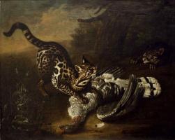 Johann (Ivan Fedorovich) Friedrich Groot. Wild cats