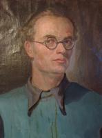 Arkady Pavlovich Laptev. Arkady Laptev. Self portrait