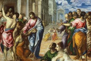 Эль Греко (Доменико Теотокопули). Исцеление слепого