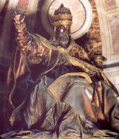 Джованни Лоренцо Бернини. Гробница Папы Урбана VIII (фрагмент)