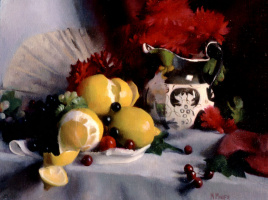 Мэри Минифи. Натюрморт с лимонами