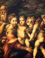 Франческо Пармиджанино. Святое семейство