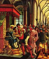 Альбрехт Альтдорфер. Христос перед Пилатом: Алтарь св. Себастьяна духовного училища августинских каноников св. Флориана близ Линца