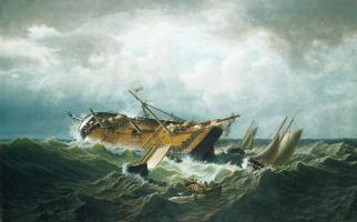 Уильям Брэдфорд. Кораблекрушение
