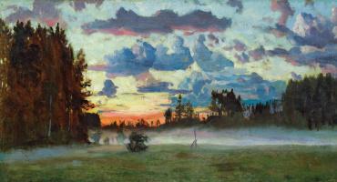 Stanislav Yulianovich Zhukovsky. Morning mist