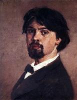 Vasily Ivanovich Surikov. Self-portrait