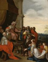 Франс Франкен Младший. Царь Соломон принимает царицу Савскую. 1620-1629