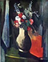 Морис де Вламинк. Ваза с цветами