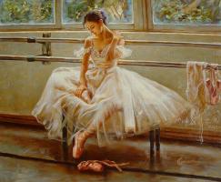 Гуань Зе-Джу. Балерина 4